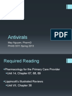 Antivirals (Hsv, Vzv, Cmv, Flu, Rsv) - 2015