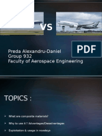 Boeing vs Airbus - Composite Materials