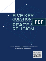 5 Questions on Peace and Religion Report