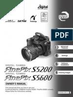 Download free pdf for fujifilm finepix s5600 digital camera manual.