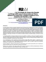 Paper Aplicacion Tecnologia Inspeccion Basada en Riesgo IBR