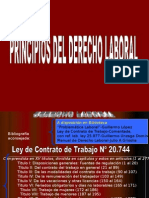 Principios Del Derecho Laboral