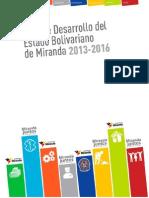 Plan de Desarrollo Estadal 2013.2016