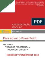 Aula de Power Point