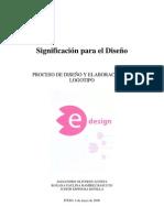 proceso de diseño y elaboración de logotipo - significación para el diseño 2006 - lcc. alejandro oliveros acosta - iteso
