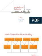 OB2. Decision Making. Hidden Profiles (PB Technologies)