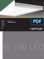 Spittler Sl740 Led 3000k 56w