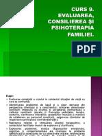 . Evaluarea, Consilierea, Psihoterapia Cuplului Si a Familiei