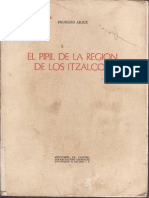 El Pipil de La Región de Los Iztalcos