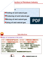 1 Introduction to Petroleum Industry