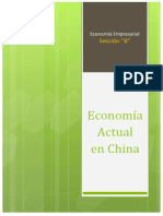 Economía Actual en China
