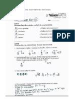 part e  student math work samples