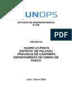 0040 Mazuhuzo Huaro U1 PAS15 Estudio Hidrología