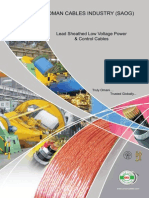 Lead Sheathed Low Voltage Power&Control Cables