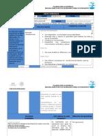 Formato Planeación Academica Marzo