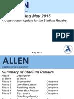 Allen Stadium Repairs