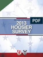 2013 Hoosier Survey