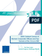 2005 Census Fortune 500 Women Corporate Officers