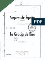La Gracia de Dios (Guión y Partes). Ramón Roig