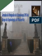 SARAWAK. 2015.02.25. Jornadas de Divulgación de La Espeleología 2015