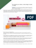 Decorar Un Dormitorio Infantil Con Vinilos y Cómo Elegir El Color de La Habitación de Tu Bebé