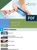 Recaudación Electrónica Por GBSYS 2015