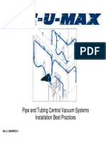 VAC-U-MAX Piping Network Best Practices