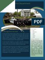 2010 Dunwoody Police Department Strategic Plan