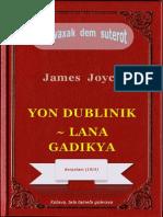 Lana gadikya (Dubliners), ke James Joyce