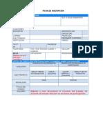 Ficha de Inscripcion 2015