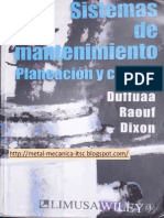 Libro Sistemas de Mantenimiento Planeacion y Control Duffuaa