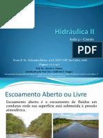 Hidráulica II - Aula 03 - Canais