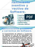 Mantenimiento Preventivo Software