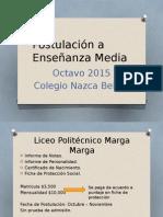 Postulación a Enseñanza Media.pptx