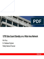 Dataguard Huge Size