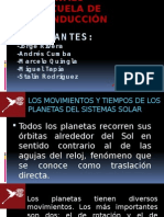 Exposición planetas