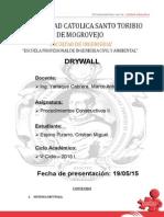 Sistema Drywall Chiclayo