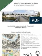 CITE INTERNATIONALE DE LA BANDE DESSINEE ET DE L'IMAGE ANGOULÊME - JEAN-FRANÇOIS BODIN ARCHITECTE