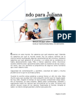 Un Mundo Para Juliana - Breve Ensayo Sobre La Vida Humana - Frank David Bedoya Muñoz - 16 de Abril 2015.