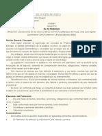 Unidad I Derecho Civil Bienes Reales EL PATRIMONIO. LA COSA