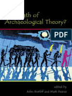 The Death of Archaeological Theory
