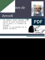 El Sócrates de Hannah Arendt (presentación)