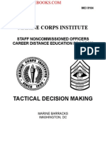 2004 Marine Corps Tactical Decision Making 221p