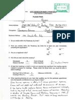 Ward 2 Applications