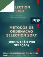 Trabalho Select Sort