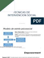 Modelos de Intervencion Social