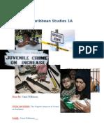 Caribbean Studies IA
