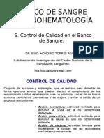6. BANCO DE SANGRE.- Control de Calidad en Banco de Sangre.pptx