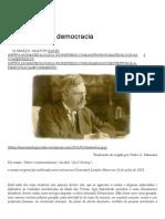 Chesterton e a Democracia _ Suma Teológica - Summae Theologiae