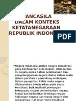 Pancasila Tata Negara